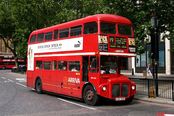 Route 19, Arriva London, RML2531, JJD531D