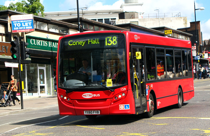 London Bus Routes | Route 138: Bromley North - Coney Hall
