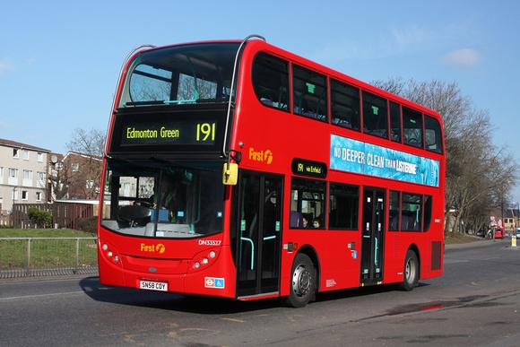 London Bus Routes Route 191 Brimsdown Edmonton Green