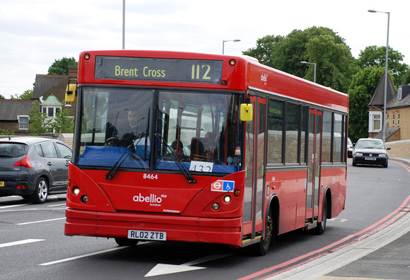 Route 112, Abellio London 8464, RL02ZTB, North Ealing
