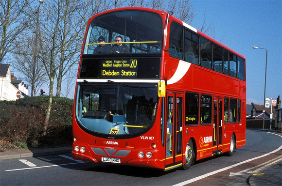Route 20, Arriva London, VLW107, LJ03MHX