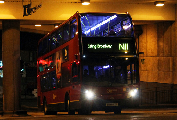 Route N11, Go Ahead London, E131, SN60BZC, Hammersmith