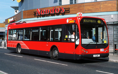 Route 486, London Central, MD3, V3GMT, North Greenwich