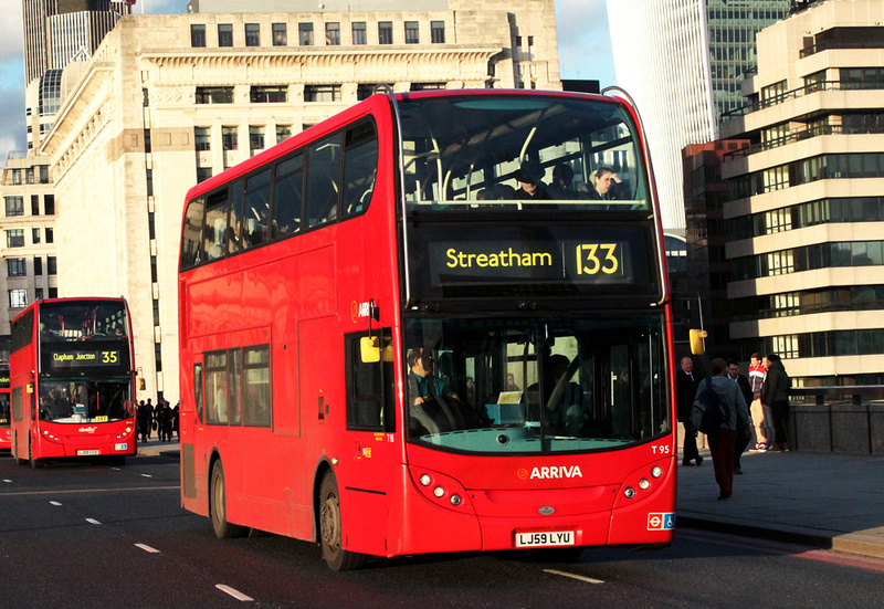 London Bus Routes Route 133 Liverpool Street