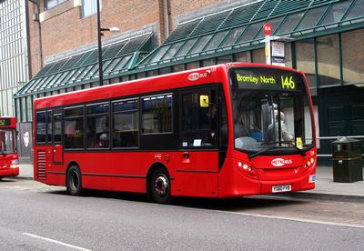 Route 146, Metrobus 159, YX60FVB, Bromley