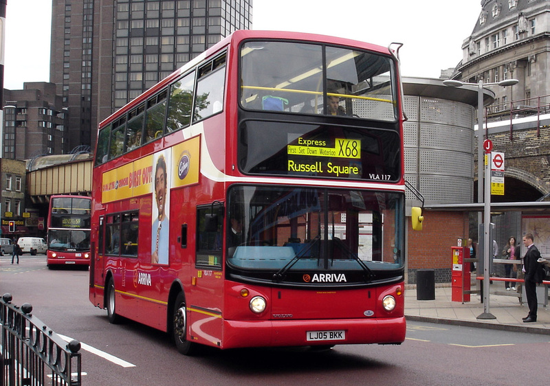 London Bus Routes Route X68 West Croydon Russell Square