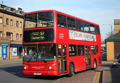 Route 57, London United RATP, TA286, LG02FEK, Kingston