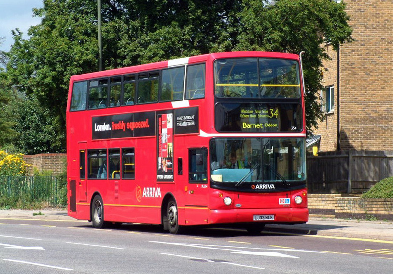 London Bus Routes Route 34 Barnet Church Walthamstow