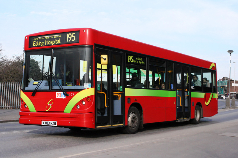 London Bus Routes Route 195 Brentford County Court