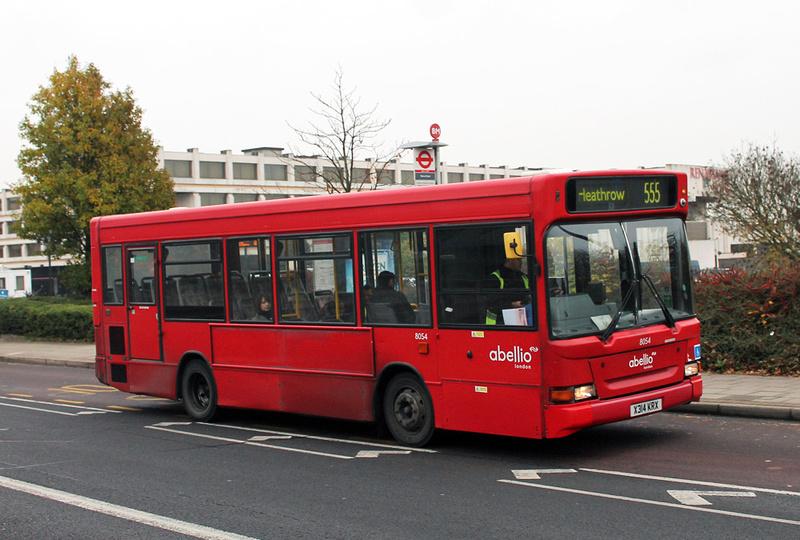 London Bus Routes Route 555 Walton On Thames Heathrow