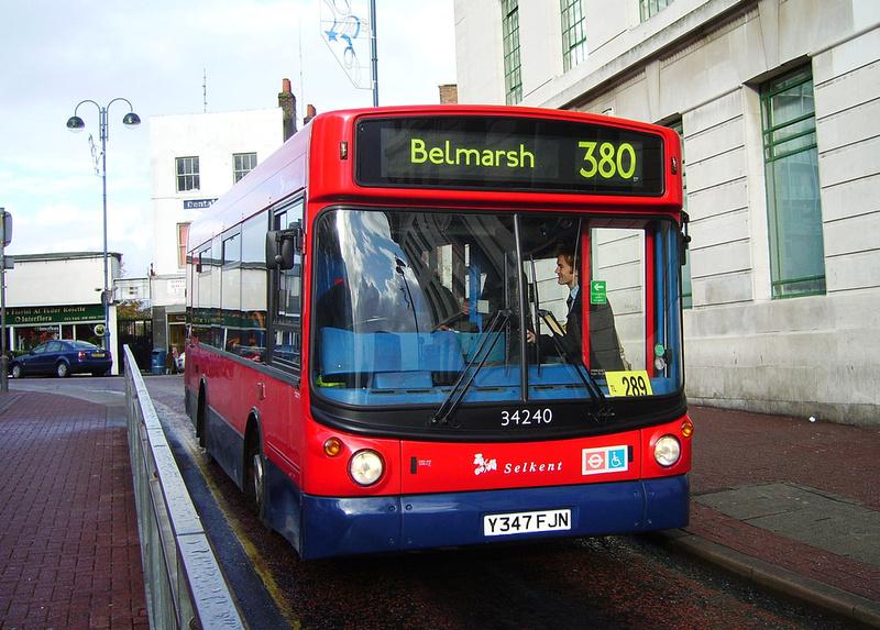 London Bus Routes Route 380 Belmarsh Lewisham