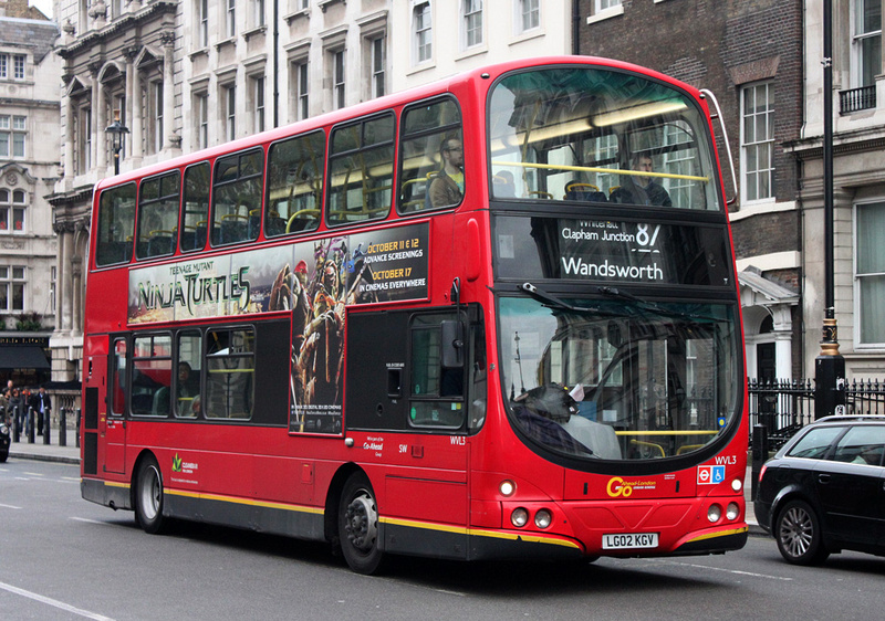 London Bus Routes Route 87 Aldwych Wandsworth