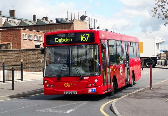 London Bus Routes Route 167 Ilford Loughton Route