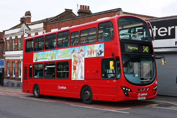 Route 340, Arriva The Shires 6101, KX59AEF, Harrow Weald