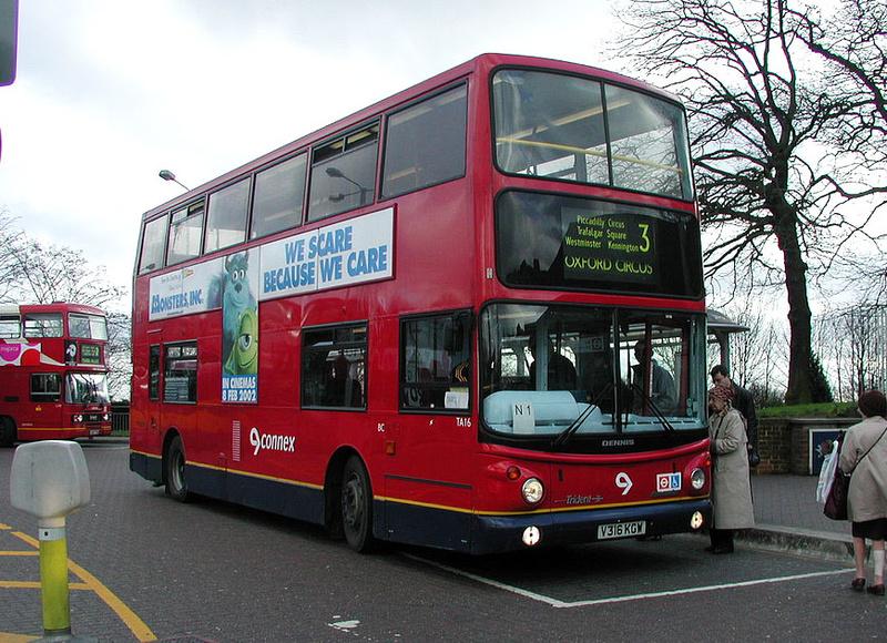 London Bus Routes Route 3 Crystal Palace Trafalgar
