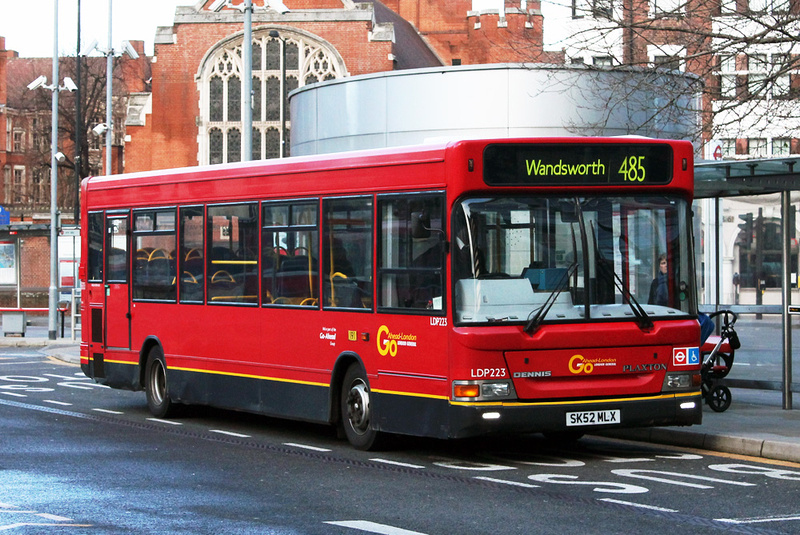 London Bus Routes Route 485 Hammersmith Wandsworth