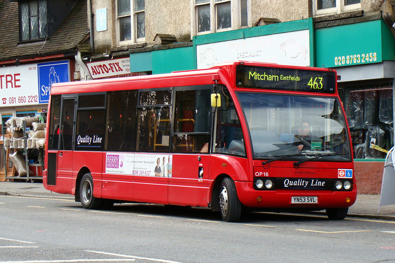 London Bus Routes Route 463 Coulsdon South Pollards Hill