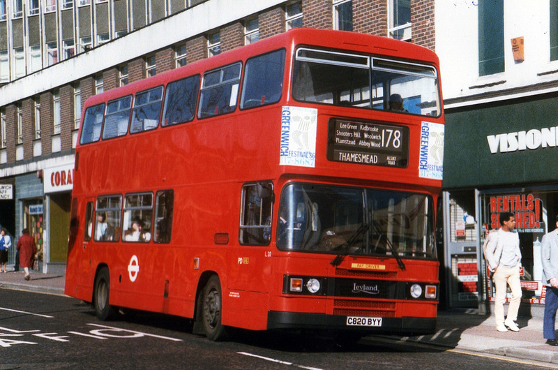 London Bus Routes Route 178 Lewisham Station Woolwich