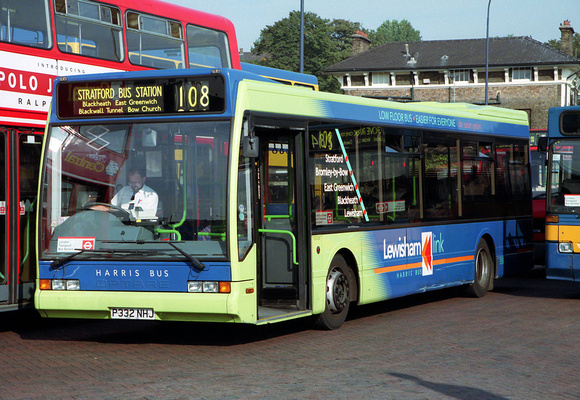 Route 108, Harris Bus, P332NHJ, Lewisham