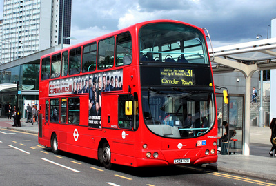 Route 31, Tower Transit, VNW32372, LK04HZB, Shepherds Bush