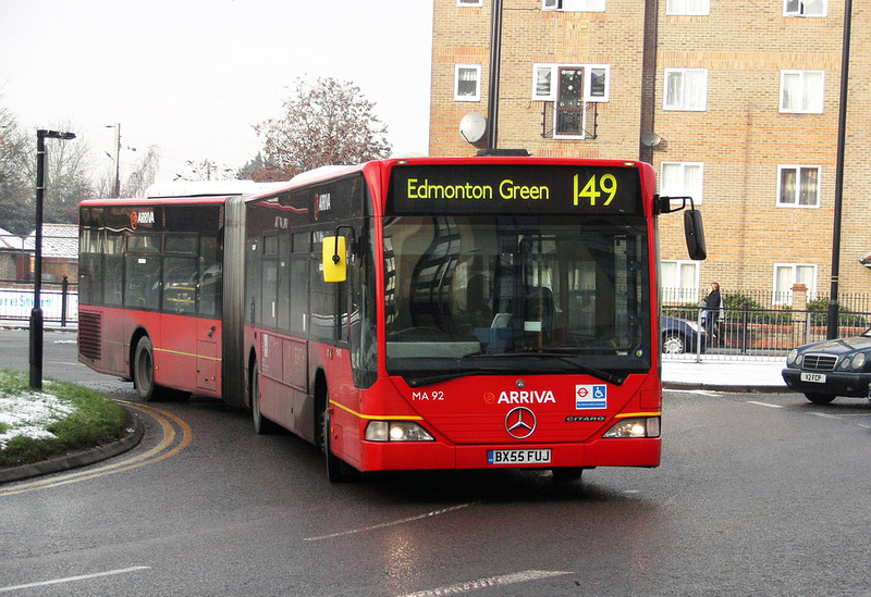 London Bus Routes Route 149 Edmonton Green London