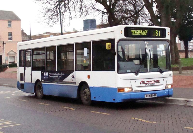 London Bus Routes Nu Venture Buses Route 181 Nu