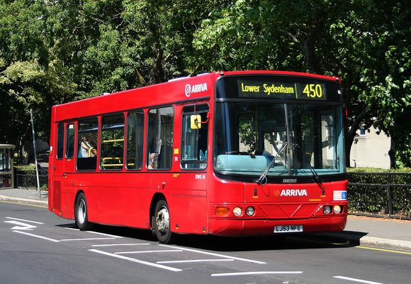 Route 450, Arriva London, DWS16, LJ53NFE, Crystal Palace