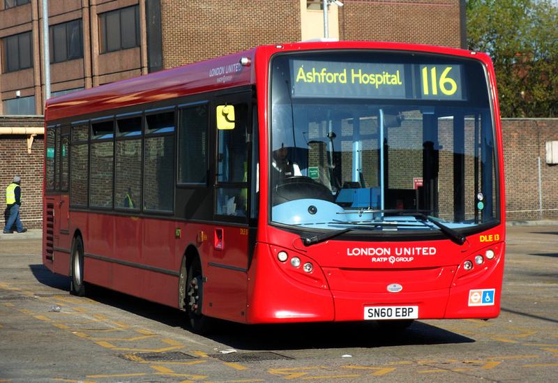 London Bus Routes Route 116 Ashford Hospital Hounslow