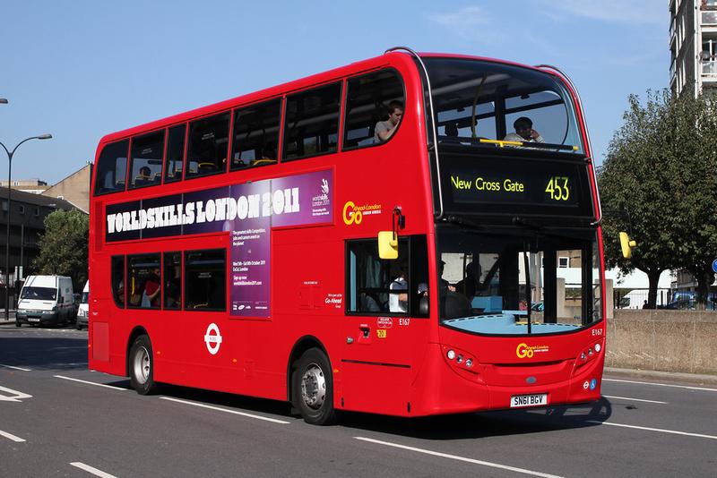 London Bus Routes Route 453 Deptford Bridge Marylebone