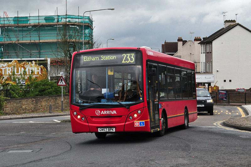 London Bus Routes Route 233 Eltham Station Swanley