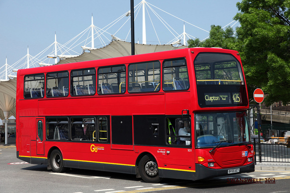Route 425, Go Ahead London, SO1, BV55UCT, Stratford