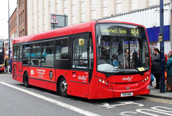 Route 484, Abellio London 8338, YX11AHL, Lewisham