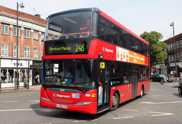 Sullivan Auto Group >> London Bus Routes | Route 248: Cranham - Romford Market | Route 248, Stagecoach London 15014 ...