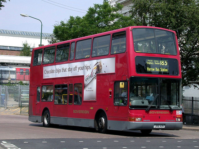 London Bus Routes Route 183 Golders Green Pinner
