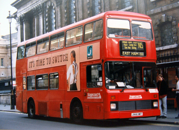 S44 Bus Time >> London Bus Routes Stagecoach London 1994 2006 Route N15