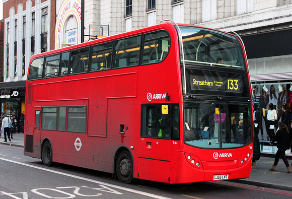 Route 133, Arriva London, T116, LJ59LXS, Brixton