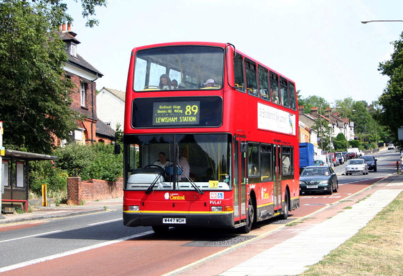 Route 89, London Central, PVL47, W447WGH, Shooters Hill
