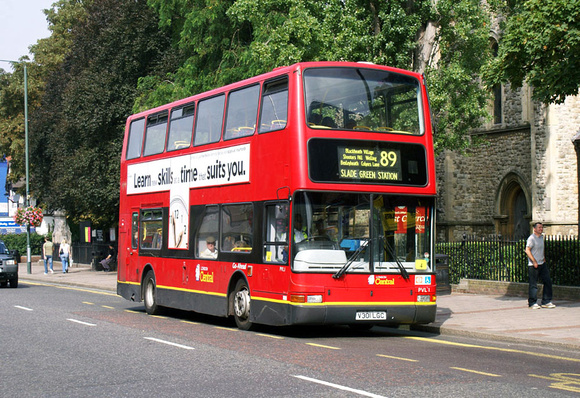 Route 89, London Central, PVL1, V301LGC, Bexleyheath