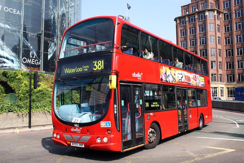 London Bus Routes | Route 381: Peckham - Waterloo