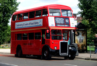 Route 32, London Transport, RTW467, LLU957, Worcester Park