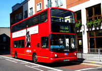 Route 60, Arriva London,  DLA216, X416FGP, Croydon