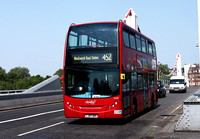 Route 452, Abellio London 9420, LJ07OPF, Chelsea Bridge