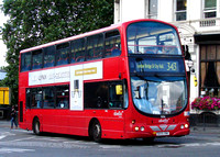 Route 343, Abellio London 9056, BX55XNK, London Bridge