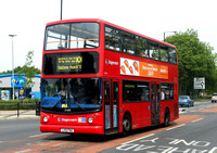 Route 101, Stagecoach London 17499, LX51FNA, Beckton