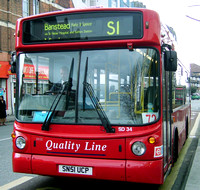 Route S1, Quality Line, SD34, SN51UCP, Mitcham