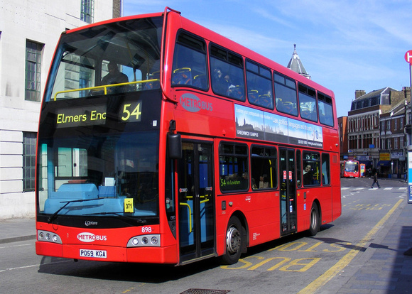 London Bus Routes Route 54 Elmers End Woolwich
