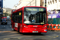 Route C10, Abellio London 8555, YX11AED
