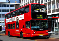 Route 60, Arriva London, DLA218, X418FGP, Croydon