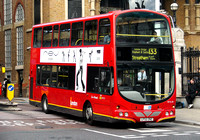 Route 133, London General, WVL91, LF52ZNZ, Liverpool Street