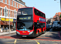 Route 37, London Central, E20, LX06EZP, Wandsworth